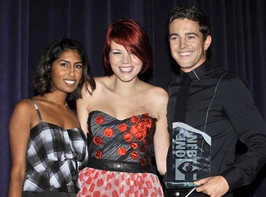 Nimisha, Phillip & Eva at the NFB awards